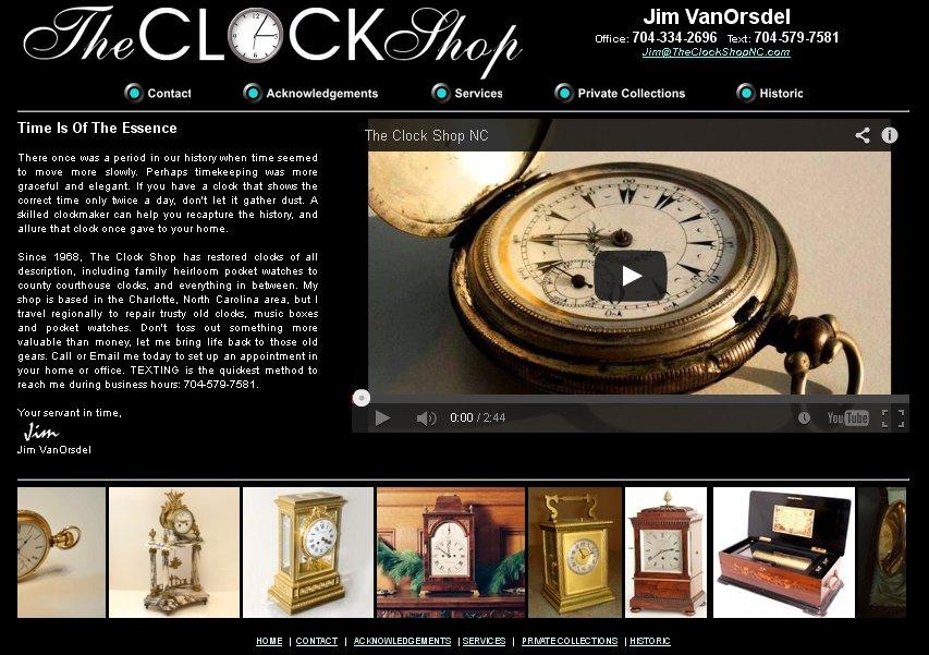 TheClockShopNC.com